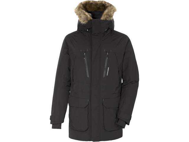 DIDRIKSONS Marco Parka Heren, black